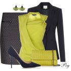 chartreuse n navy polyvorecom