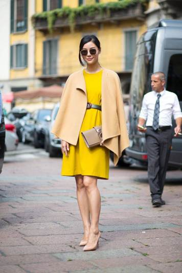 Street style-Millan fashion week