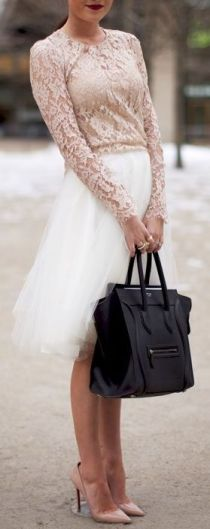 Tulle & lace...