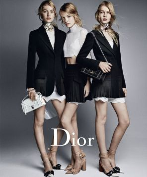 by Patrick Demarchelier for Dior Spring Summer 2016