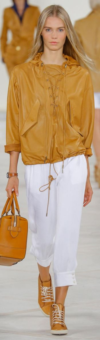 Ralph Lauren Spring 2016 Ready-to-Wear collection.,