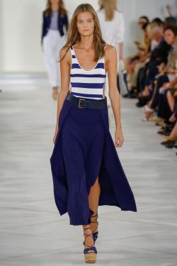 Ralph Lauren Spring 2016 Ready-to-Wear collection.